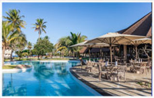 Swimming pool at the Amani Tiwi Beach Resort