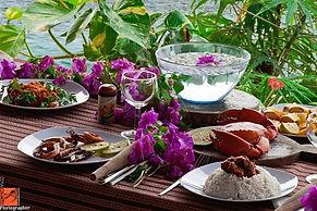 Seafood lunch at Wasini Island