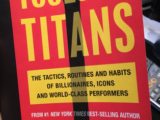 Executive Performance Books - 'Tools of Titans' (Part 1: Healthy)