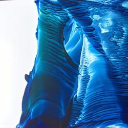Blue & Green Sculpture