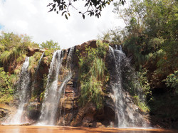 """""""Las Cuevas"""" waterfall"""