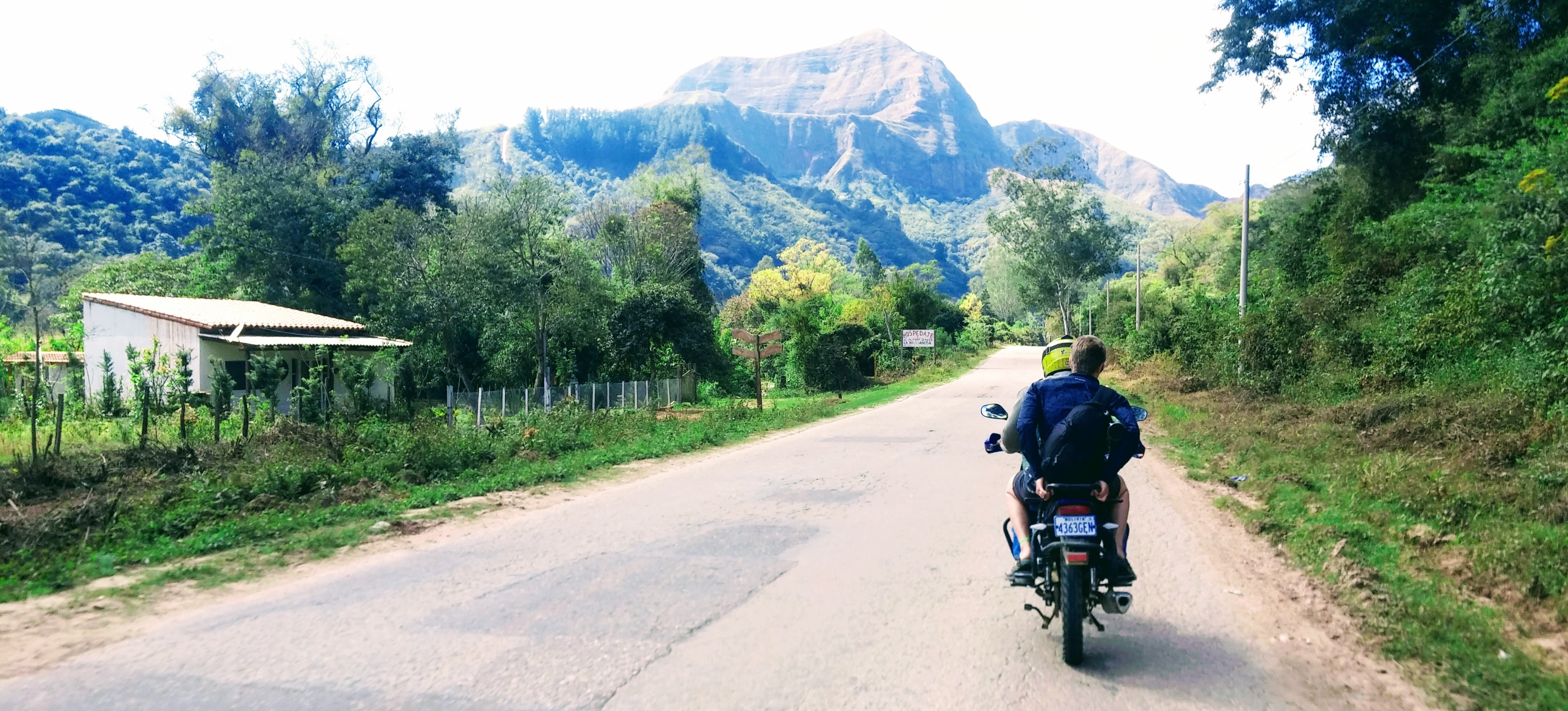 SEES takes a Samaipata mototaxi