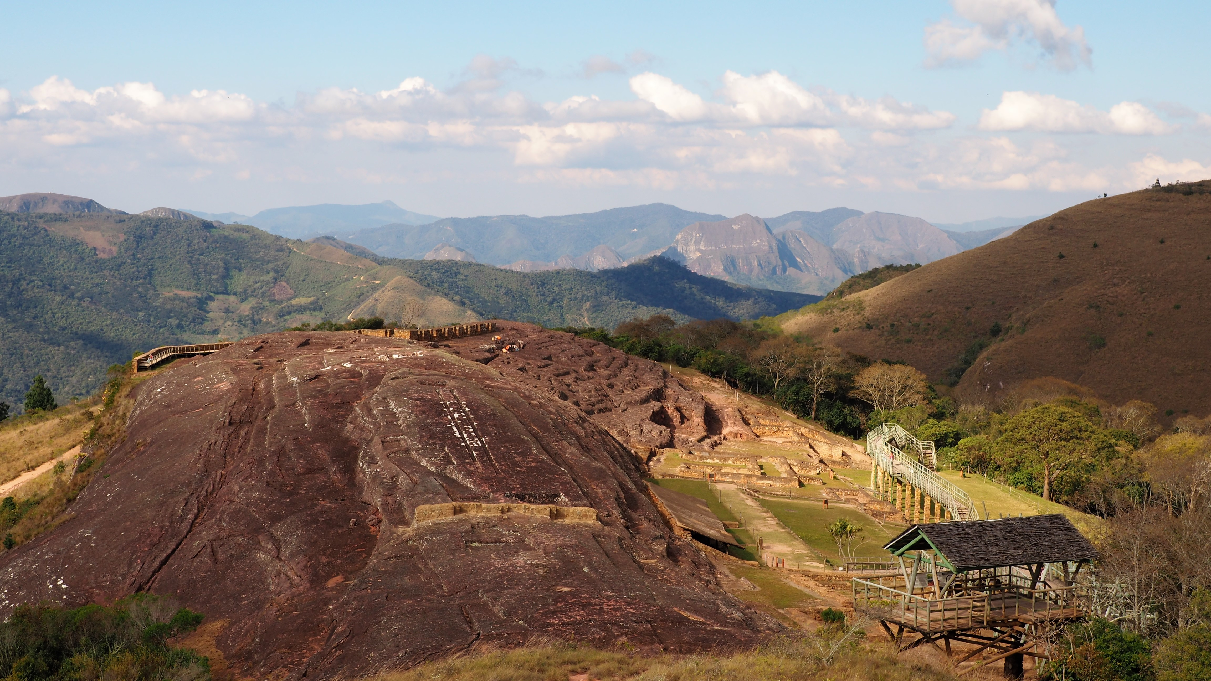 """mind-boggling """"El Fuerte"""" ruins"""