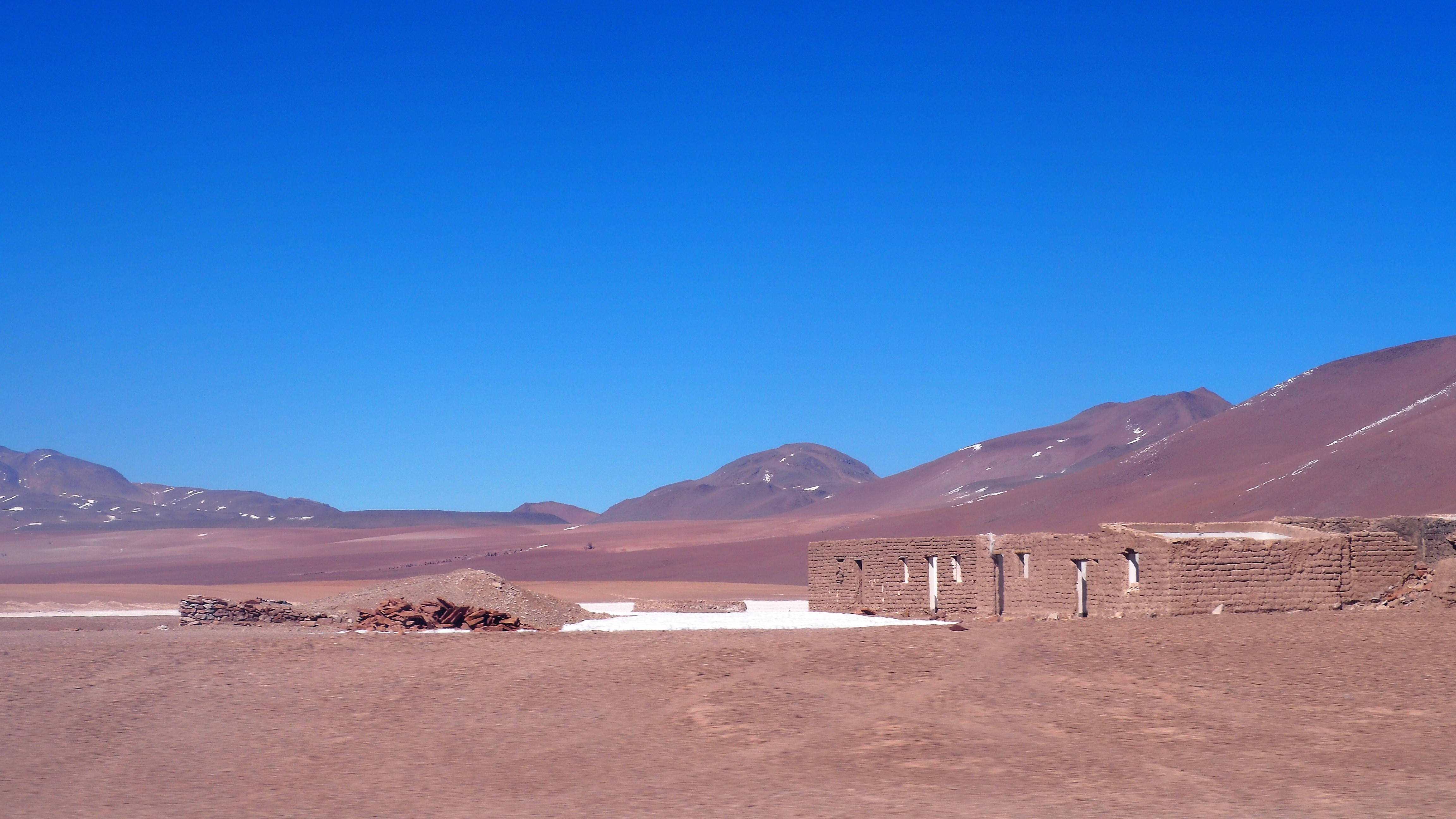 Borax mining on the altiplano