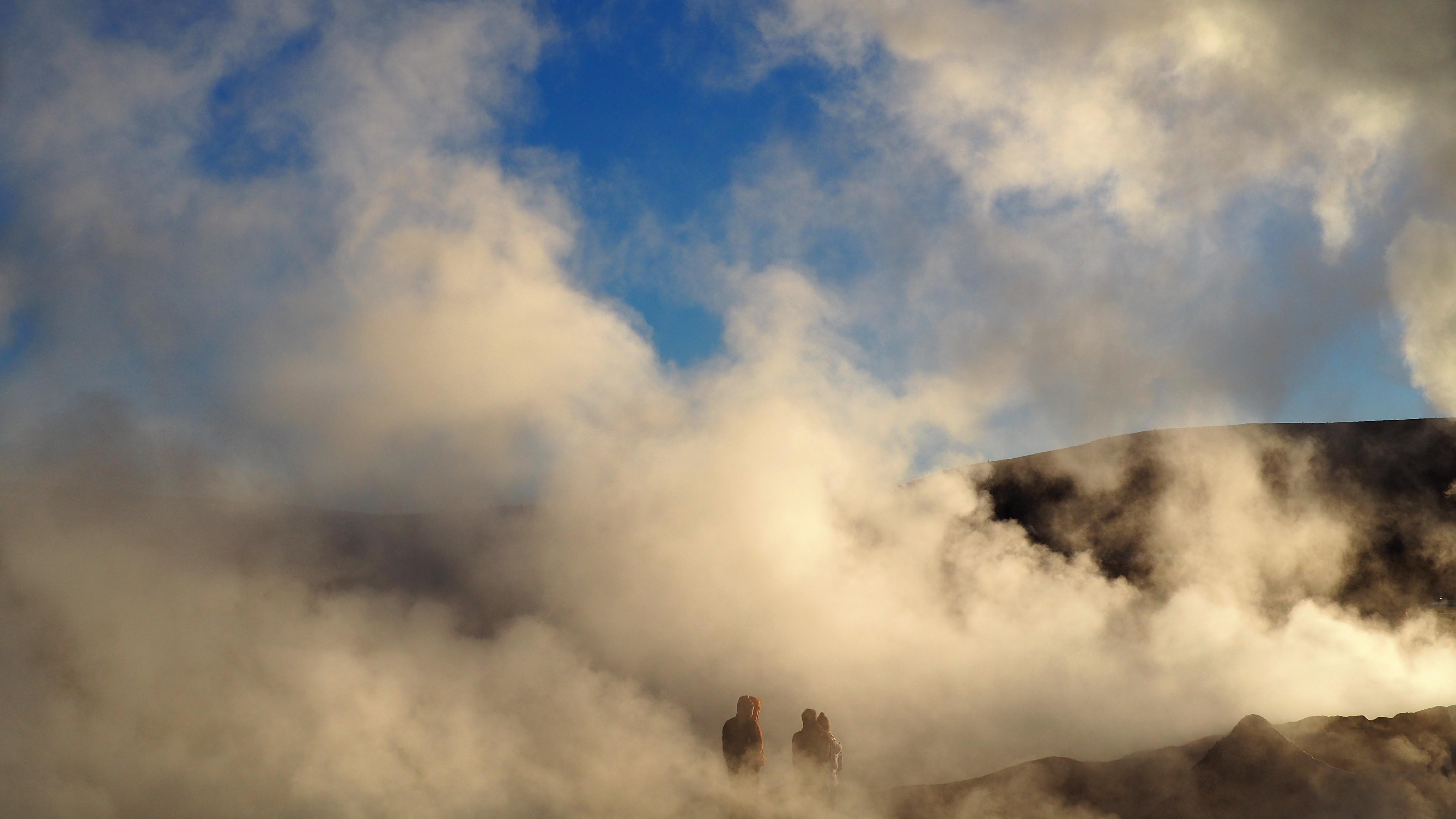 sol de mañana geisers (geysers)