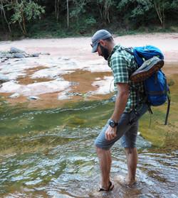 Amboro National Park hike