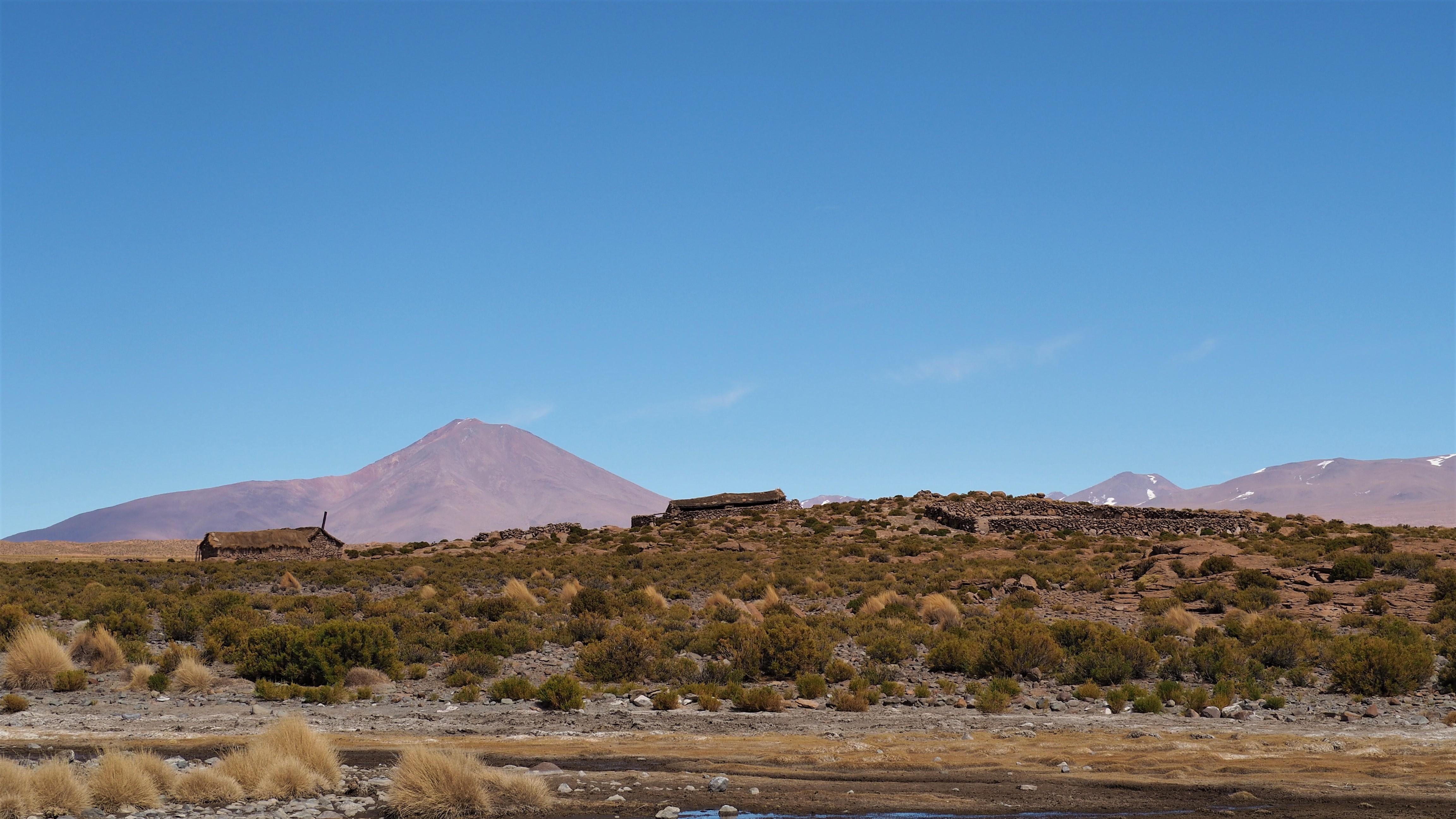 campesino dwellings