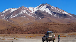 SEES, the Land Cruiser, and volcano