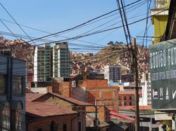 visually chaotic La Paz