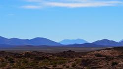 looking north towards Uyuni