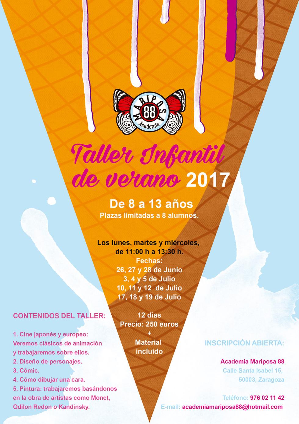 TALLER INFANTIL DE VERANO 2017