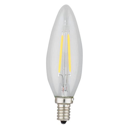 CHANDELIER LED BULB FILAMENT STYLE 4.5W B11 2700K | 3B LED LIGHTING
