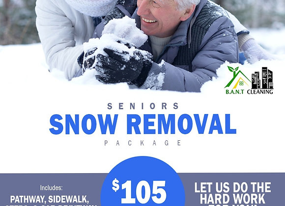 MONTHLY SNOW REMOVAL