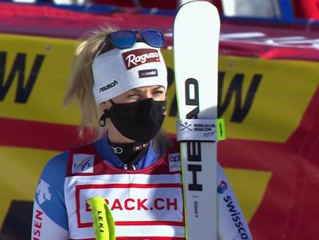 Lara Gut Wins Crans Montana Super-G