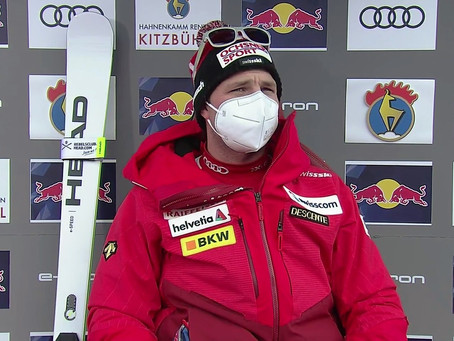 Double Victory in Kitzbühel's Downhill for Beat Feuz