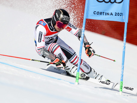 Mathieu Faivre Wins Giant Slalom Gold in Cortina