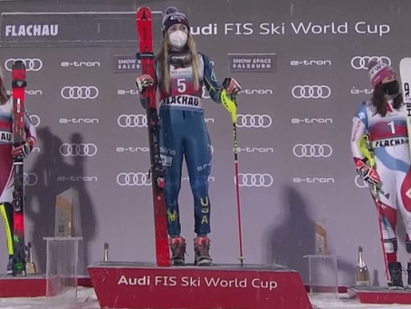 Mikaela Shiffrin Wins Night Slalom in Flachau