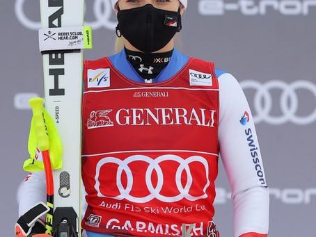 Lara Gut-Behrami is the Ski Queen of Garmisch