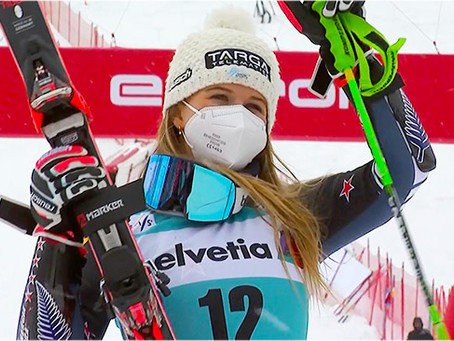 """Robinson Pulled an """"Alice"""" to Close the Giant Slalom Season"""