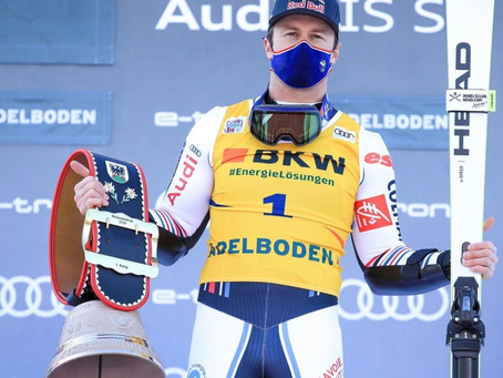 Alexis Pinturault Wins World Cup Giant Slalom in Adelboden