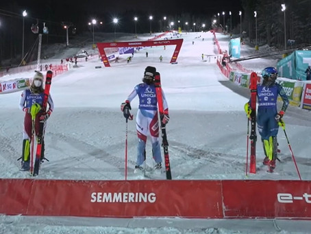 Michelle Gisin Takes First World Cup Win in Semmering Slalom