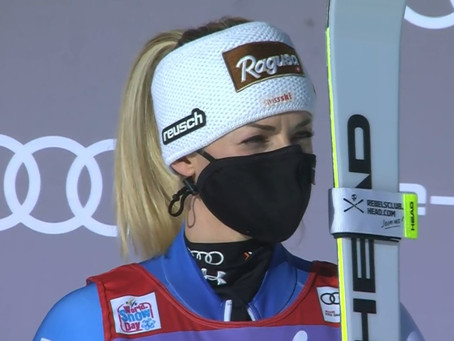Lara Gut Back To the Top of the Podium in Super-G