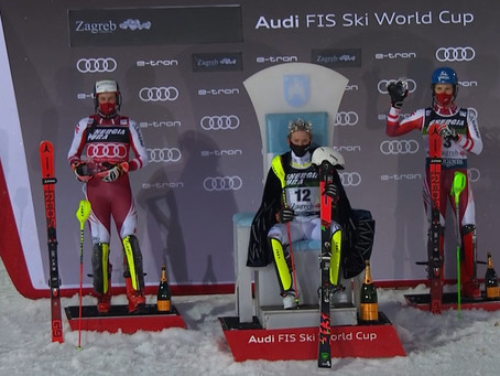 Linus Strasser Wins Zagreb Slalom