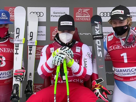 Second Super-G Victory for Vincent Kriechmayr