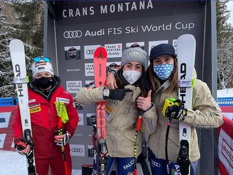 Sofia Goggia Wins Second Downhill in Crans Montana