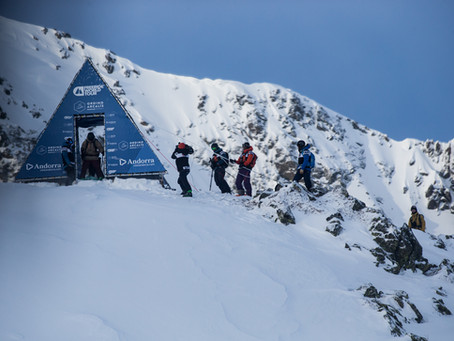 Freeride World Tour Opening Event. Ordino Arcalis, Andorra