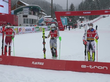Maiden Victory in the World Cup for Sebastian Voss-Solevaag in Flachau