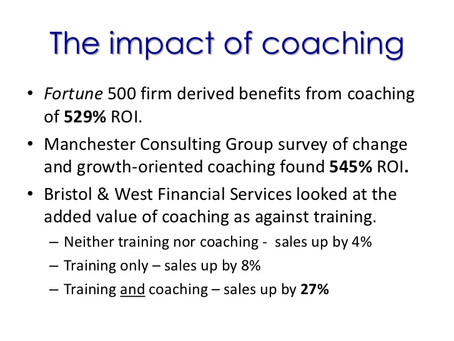 Fördelar och nytta med coaching