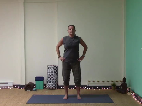Energize and Feel Taller with this Simple Flow
