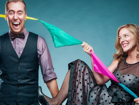 Toronto Corporate Magicians, Brent and Sarah, On Performing Their 100th Virtual Magic Show