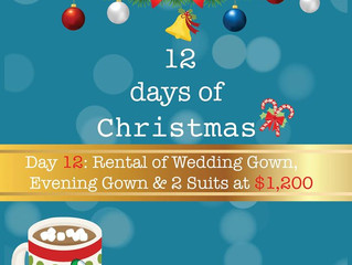 The last of our 12 days of Christmas!