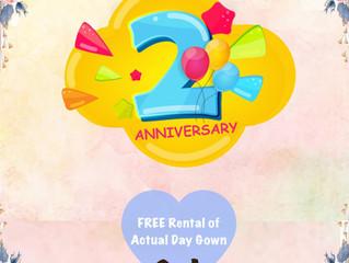Happy 2nd Anniversary!