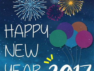 Wishing everyone a Happy New Year and Happy Holidays
