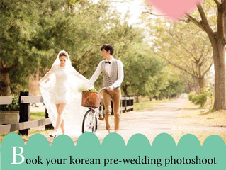 Korea Pre-Wedding Shoot