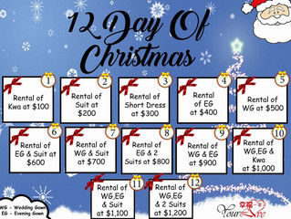 Christmas & Year end promotions