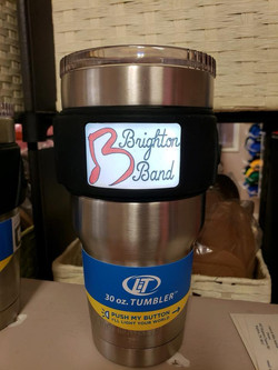 light up logo cup