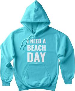 i need a beach day hoodie