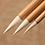 Thumbnail: Pinceau de calligraphie (poils de chèvre)  26.7 cm X 0.8 cm