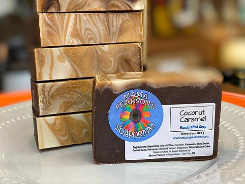 Coconut Caramel Soap