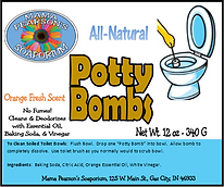 Potty Bombs Multi-Pack of 12