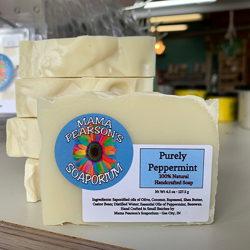 Purely Peppermint Soap Bar