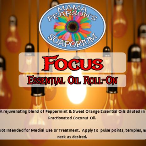 Focus Essential Oil Blend Roll On