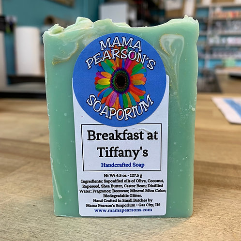 Breakfast at Tiffany's Soap Bar