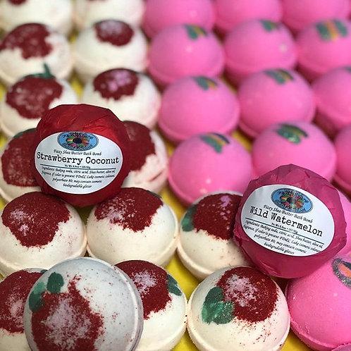 Shea Butter Bath Bomb (Fruity Scents)