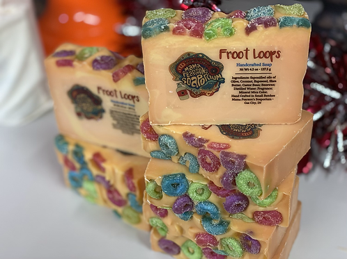 Froot Loops Soap Limited Edition
