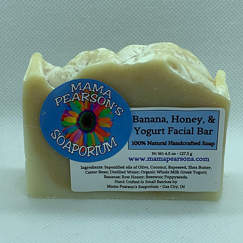 Banana Honey Yogurt Facial Bar